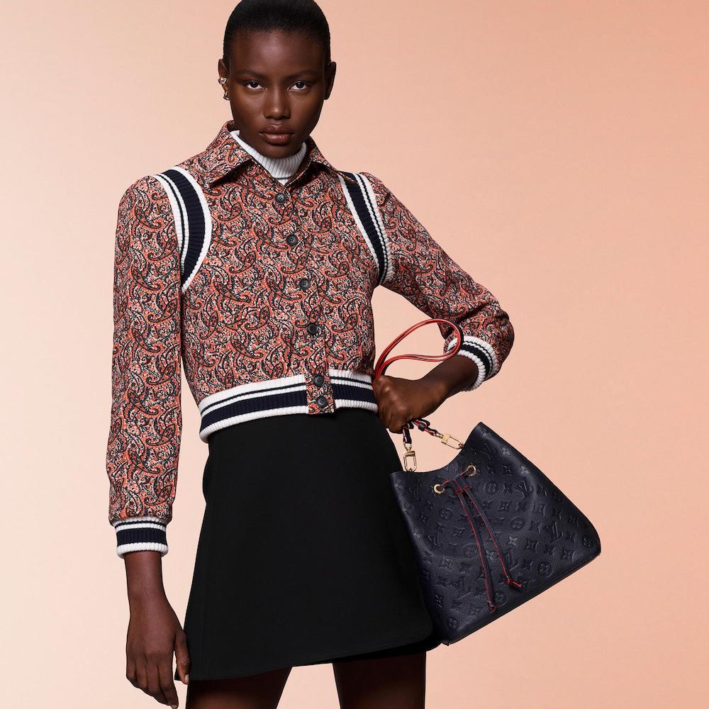 Louis Vuitton Brings the Monogram Empreinte Leather to the NéoNoé Bucket Bag