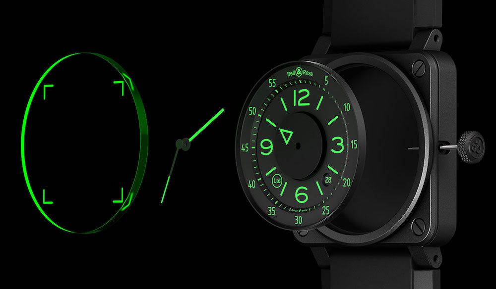 Bell & Ross Debuts Limited Edition BR 03-92 HUD Watch