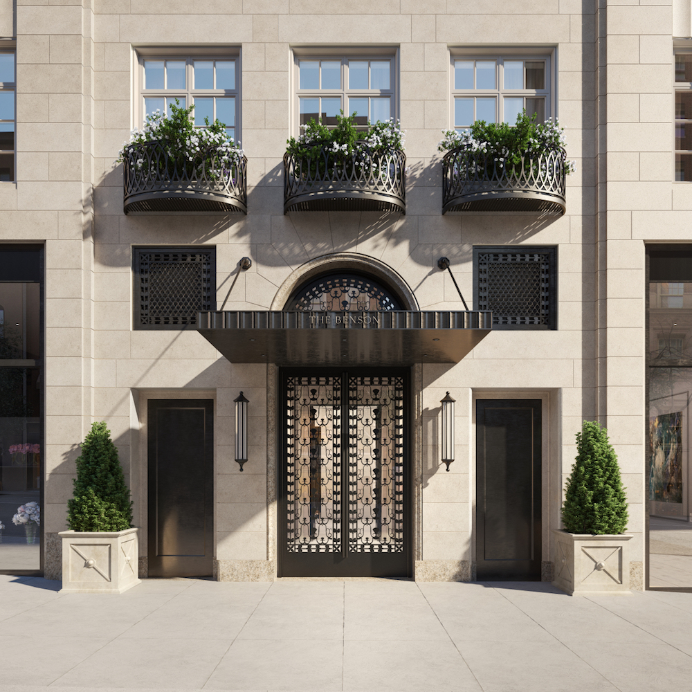 Peter Pennoyer-Designed, Luxury Boutique Condominium The Benson Launches Sales