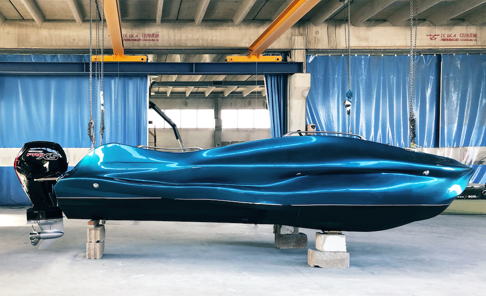 Moi Composites Presents World's First 3D Printed Fiberglass Boat