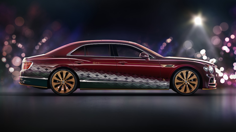 Bentley Reveals Santa's New Ride - the One-Off Reindeer Eight