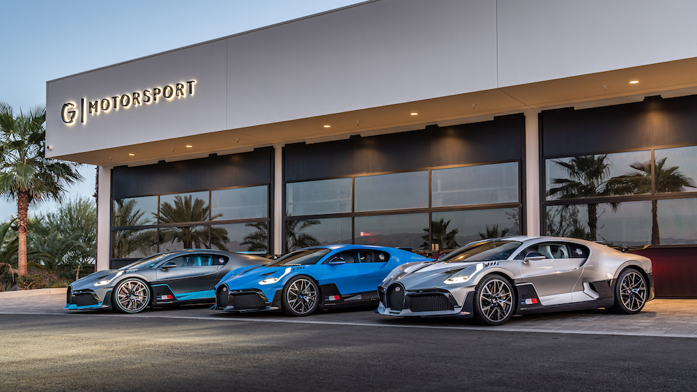The First Bugatti Divo Hyper Sports Cars Have Arrived on the US West Coast