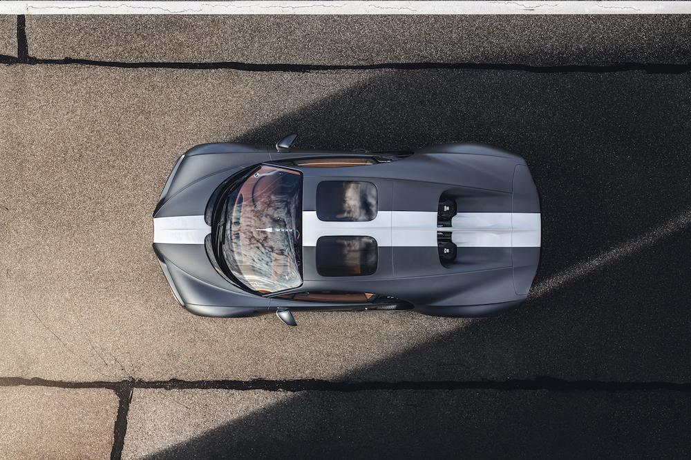 Bugatti Unveils the Chiron Sport 'Les Legendes du Ciel' to the Middle East