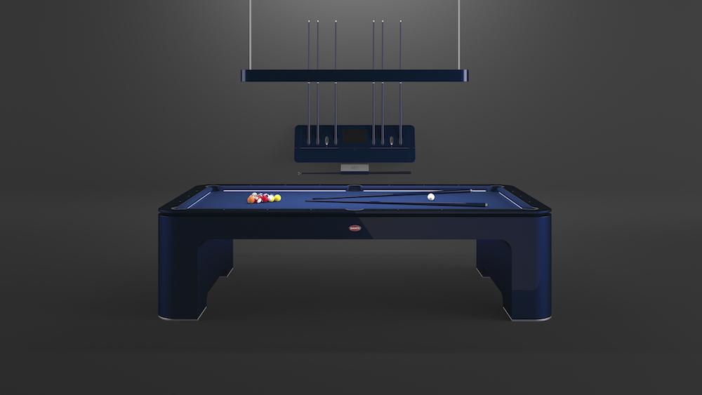 This $300,000 Bugatti Pool Table Wears the Famous Bugatti Badge