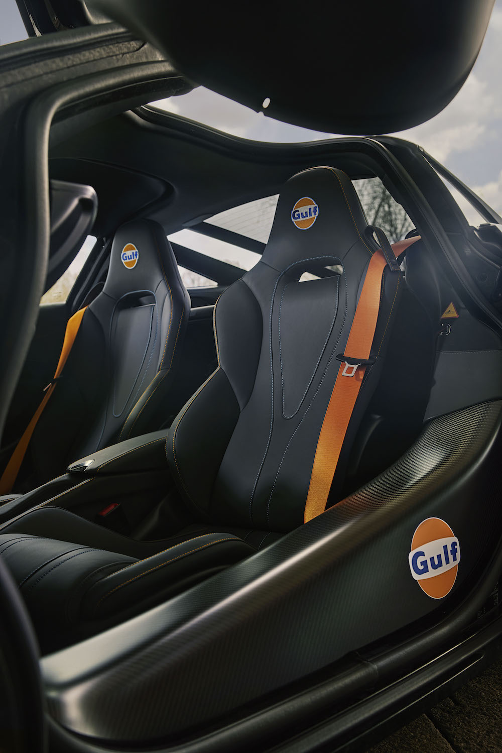 The McLaren 720S Gulf Oil Edition by McLaren Special Operations
