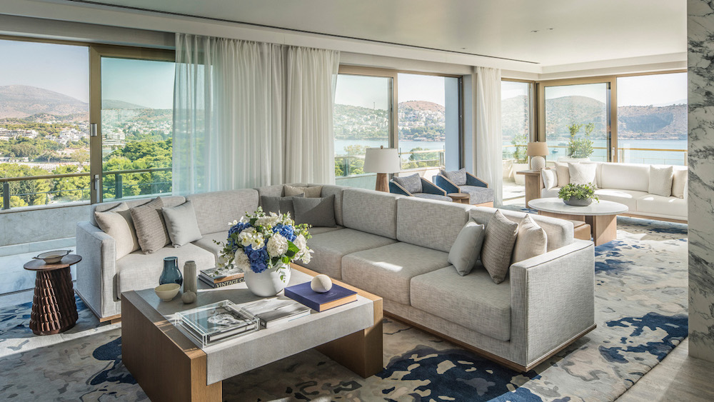 Specialty Suites at the Luxurious Beachfront Resort on the Athens Riviera