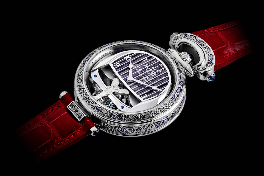 Rolls-Royce and BOVET 1822 Create Unique Timepieces for Boat Tail