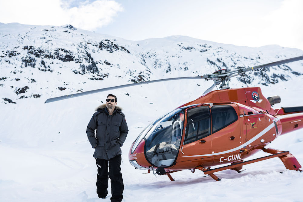Shangri-La Vancouver Launches Unique Ice Caves Heli Adventure