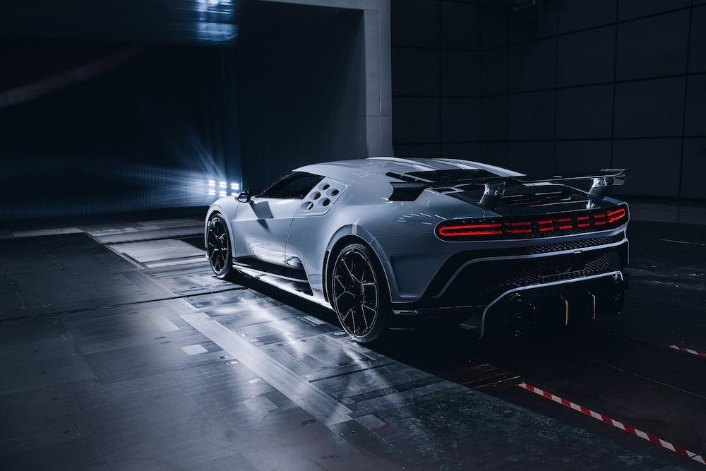 Bugatti Fine-Tunes Few-Off Centodieci Hyper Sports Car